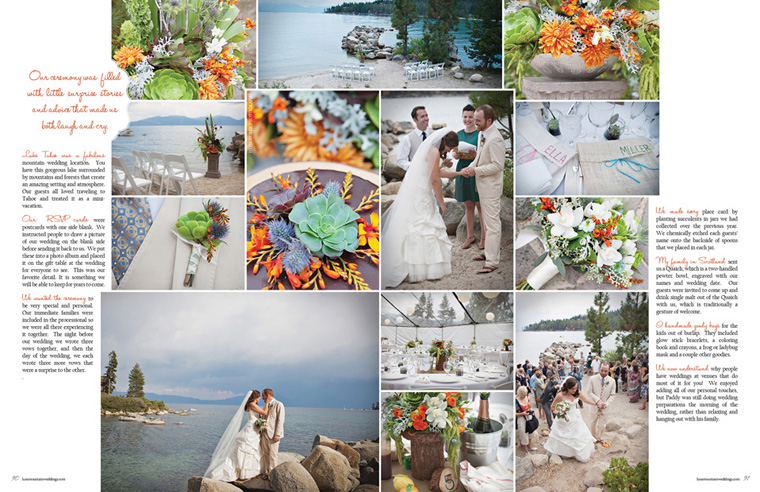 Meeks Bay weddings