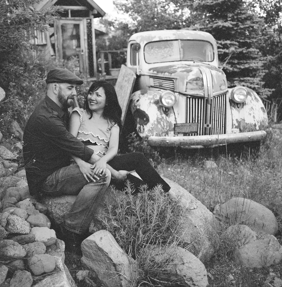 Truckee, ca engagment session