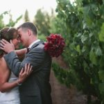 wedding couple vineyard Sonoma
